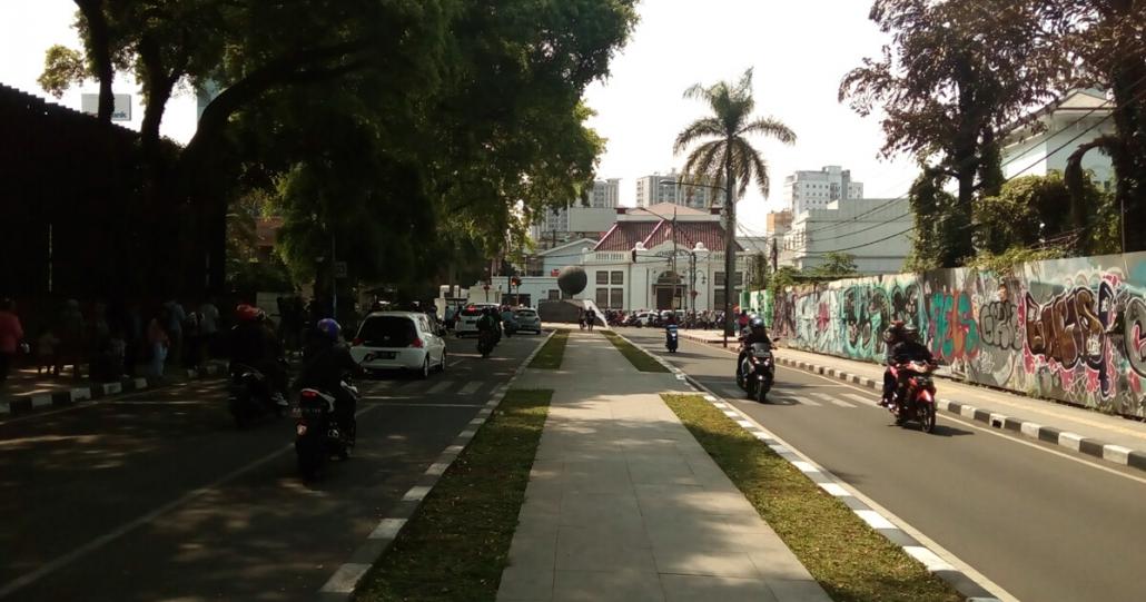 City tour Jalan Asia Afrika Bandung