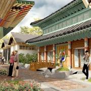 Design Kampung Korea di Bandung