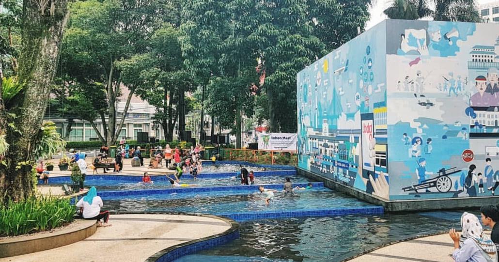 Kolam Taman Sejarah Bandung