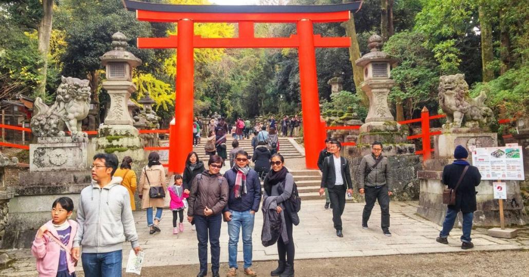 Lokasi Kampung Jepang Kyoto