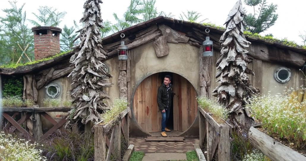 Lokasi Rumah Hobbit Bandung
