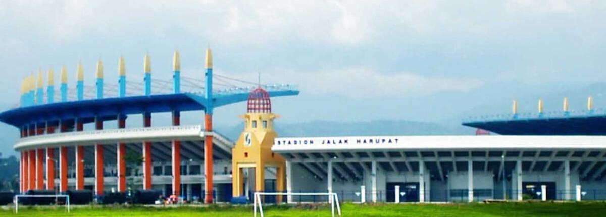 Lokasi Stadion Si Jalak Harupat