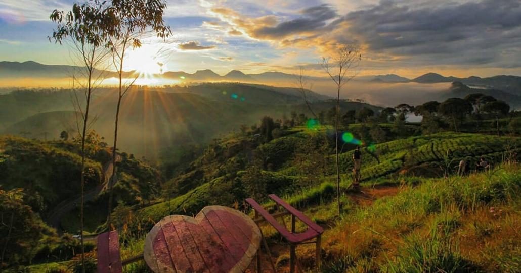 Lokasi Sunrise Point Cukul Bandung
