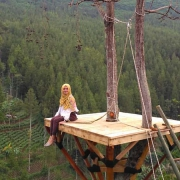 Lokasi The Lodge Earthbound Adventure Park