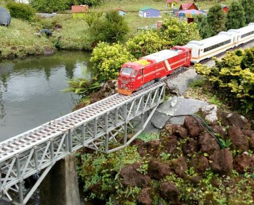 Wisata Taman Miniatur Kereta Api