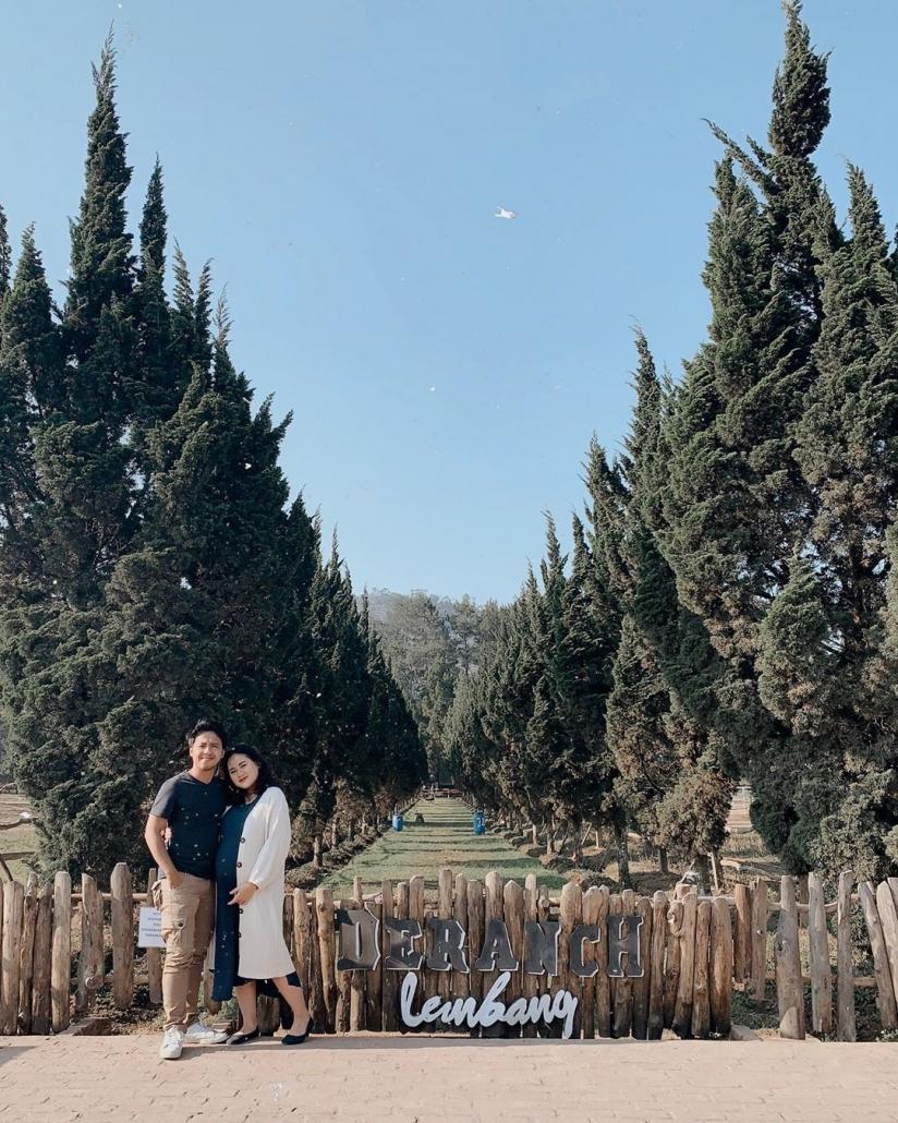tempat romantis di bandung De'Ranch Lembang @alifahratu
