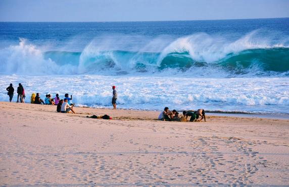 Pantai Ujung Genteng bandung