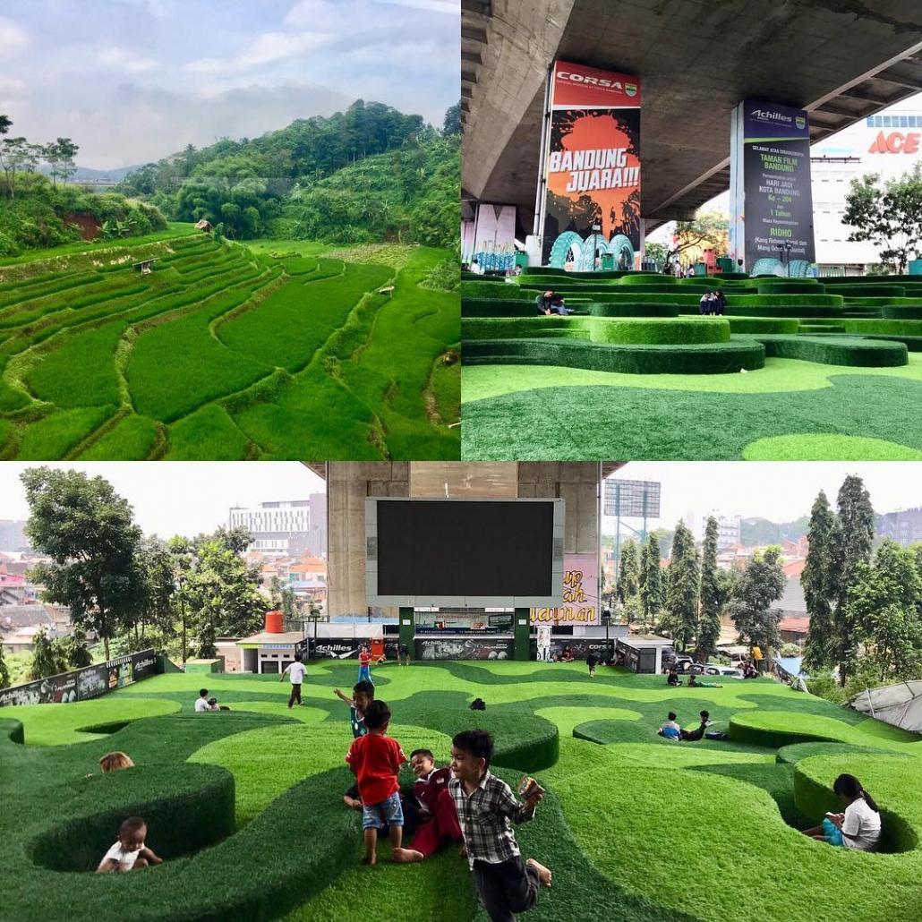 taman di bandung Taman Film @shauarchitects