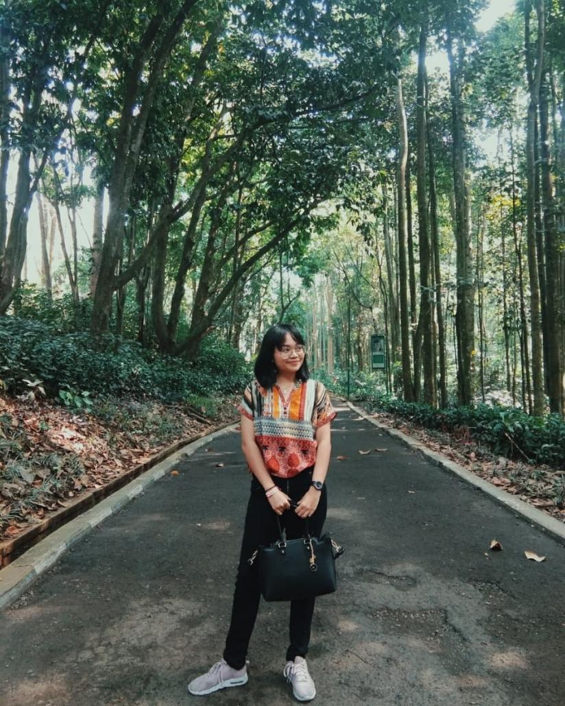 Tempat Wisata Keluarga di Bandung Taman Hutan Raya Ir. Juanda @komangelistaa