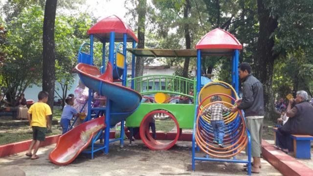 Taman Lalu Lintas Ade Irma Suryani terbaru